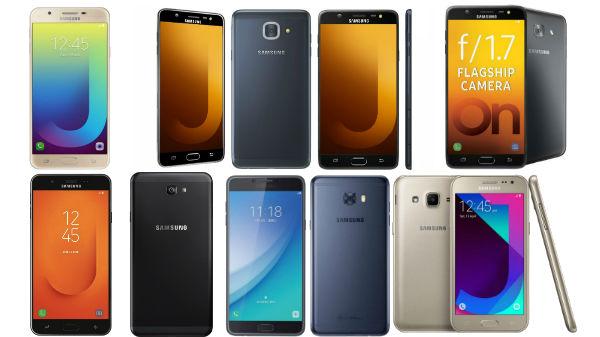 Offers on Samsung smartphones: Galaxy J7 Prime 2, Galaxy J2, Galaxy