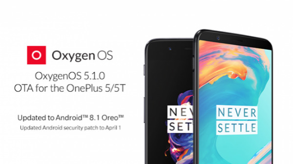 OnePlus 5 and OnePlus 5T receive OxygenOS 5.1.0 update