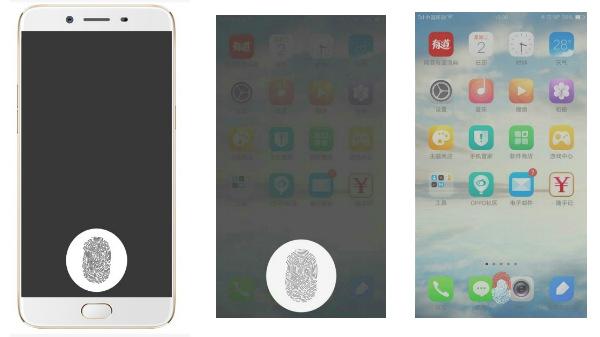 OPPO wins patent for an in-display fingerprint sensor
