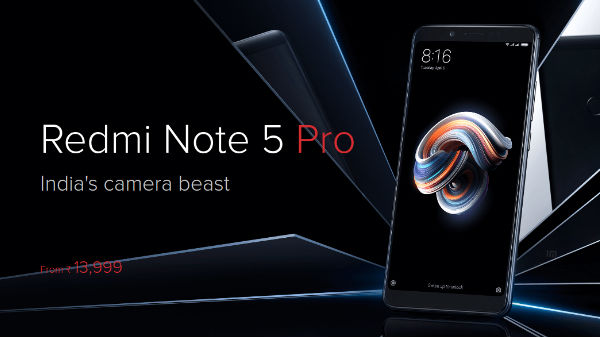 Redmi Note 5 Pro up for first pre-orders from April 13