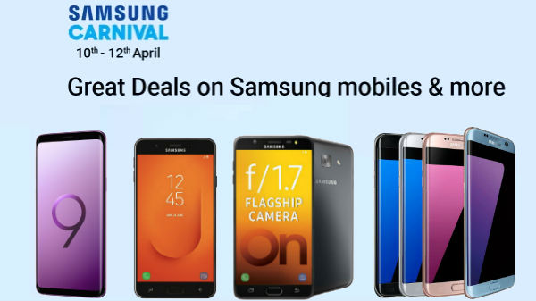 uk availability 65703 296f0 Samsung Carnival Sale on Flipkart: Offers on Galaxy S9 Plus, J7 ...