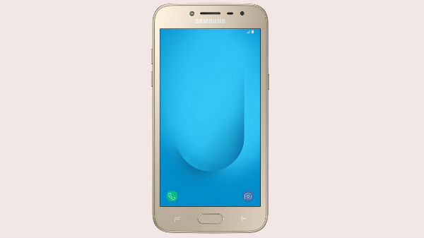 Samsung Galaxy J2 2018 launched in India for Rs. 8,190