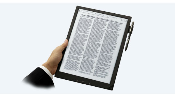Sony announces new DPT-CP1  Digital Paper