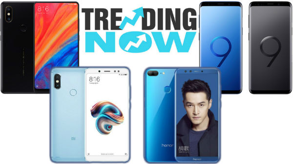 Top trending smartphones from last week