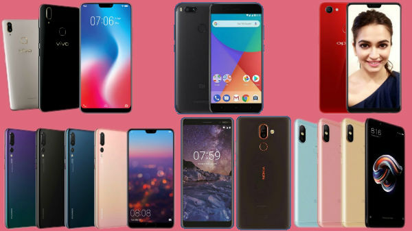 Trending phones from last week: Nokia 7 Plus, Huawei P20 Pro, Vivo V9, Oppo F7 and more