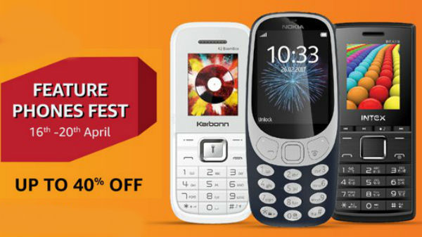 Upto 40% off on Amazon Offers on best Feature phones