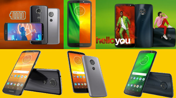 Motorola Moto G6, Moto G6 Plus, Moto G6 Play, Moto E5 and Moto E5 Plus and more coming to India soon