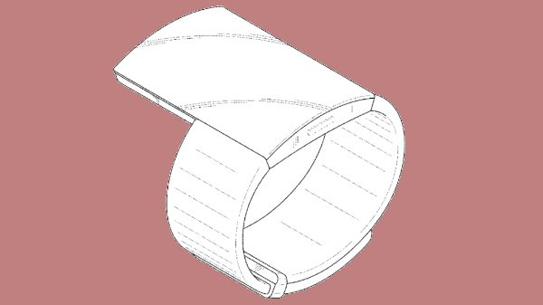 Samsung patents a smartwatch with an extended display