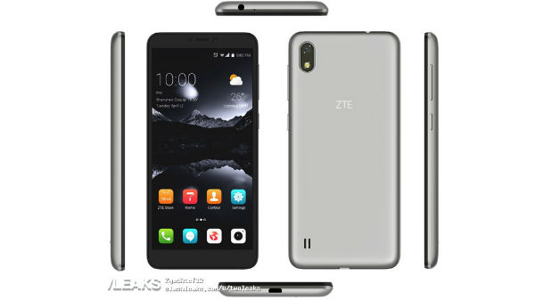 ZTE  Blade A606 image leaked: latest specs and price