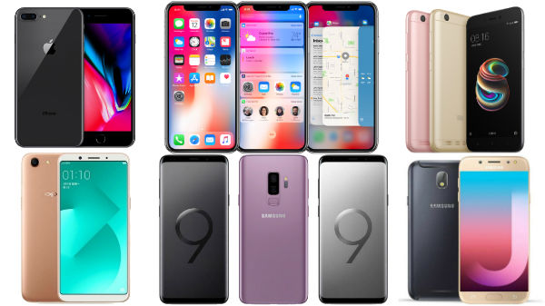 Best-Selling smartphone globally: models iPhone X, Redmi 5a, Oppo A83, Galaxy S9 plus and more