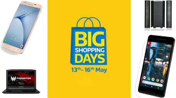 Flipkart Big Shopping Days: Offers on smartphones, laptops and more