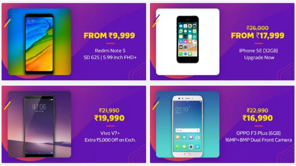 Flipkart Big Shopping Day 2 offers on  Pixel 2, Moto Z2 Play and more