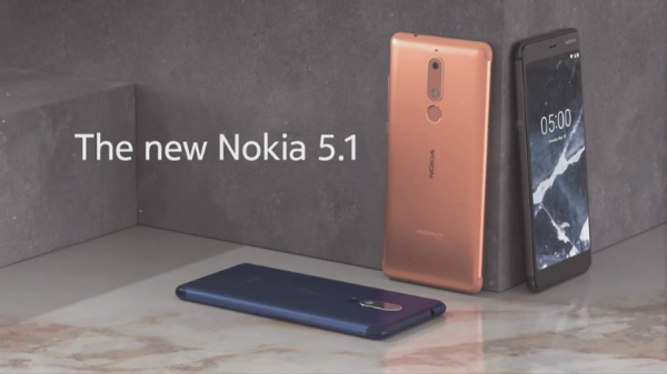 Indian prices of the Nokia 3.1 and the Nokia 5.1 leaked online