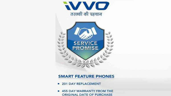 iVVO announces 201-days replacement guarantee