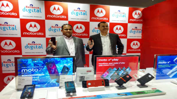 Motorola partners with Reliance Digital