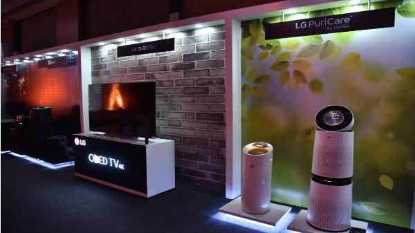 LG celebrates 21 years in India, showcases entire product range