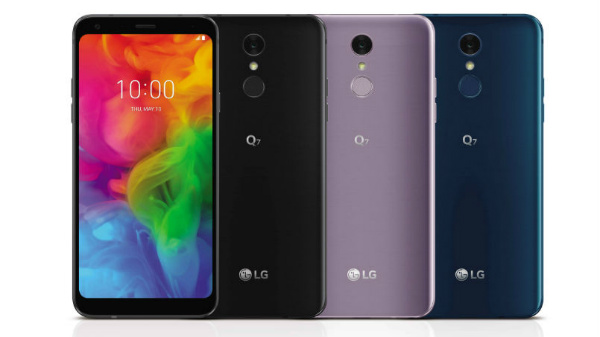 LG Q7, Q7 Plus, Q7 Alpha officially announced