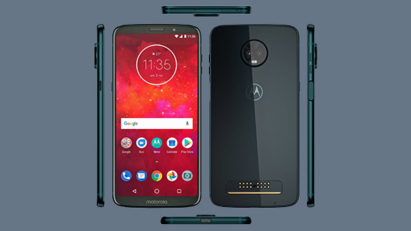 Moto Z3 Play design and specifications surfaces online