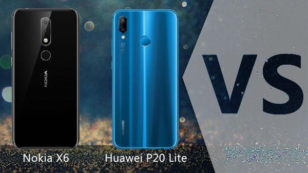 Nokia X6 Vs Huawei P20 Lite