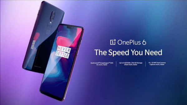 OnePlus 6 launched in India for Rs. 34,999 onwards; sale debuts May 21