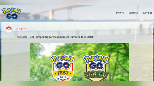 Pokemon Go Fest once again coming back this summer