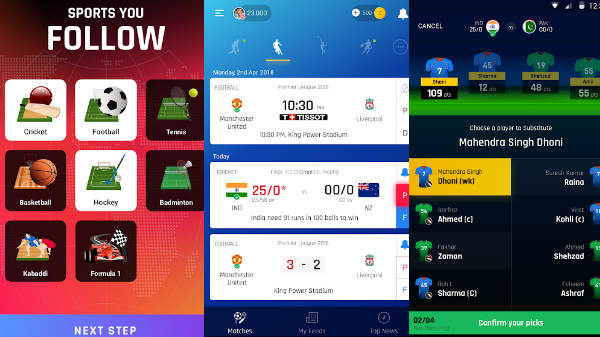 Rooter app brings first-ever live fantasy Cricket in India - Gizbot News