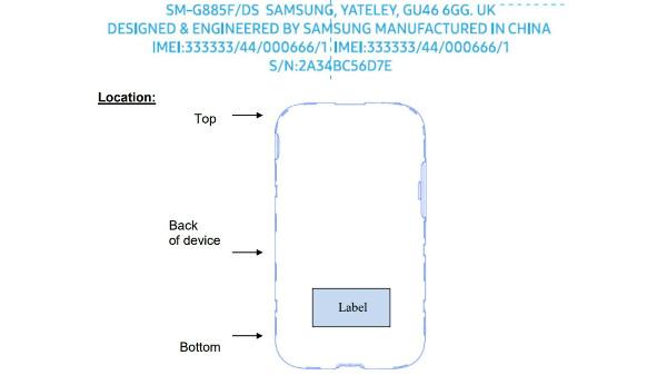 Samsung SM-G885 dual-SIM phone appears on FCC listing