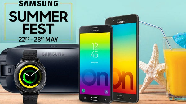 Samsung Summer Fest: Offers on Galaxy S8 Plus, Galaxy A8 Plus and more