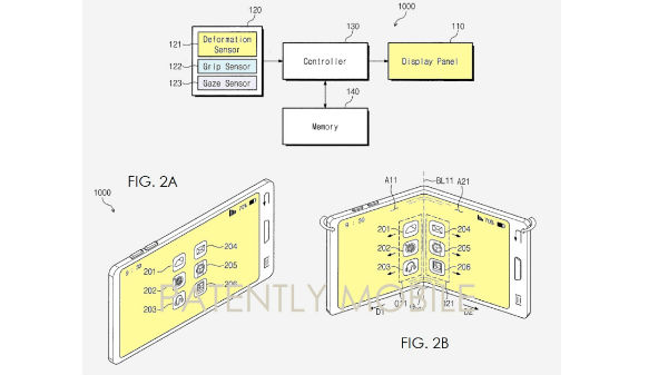 Samsung receives patents for a folding phone, might be Galaxy X