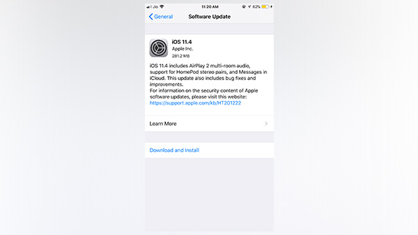 Apple iOS 11.4 update fixes some seriously irritating bugs
