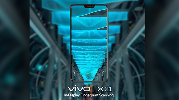 Vivo X21 with in-display fingerprint sensor soon expected in India