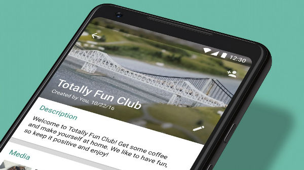 WhatsApp groups get new features