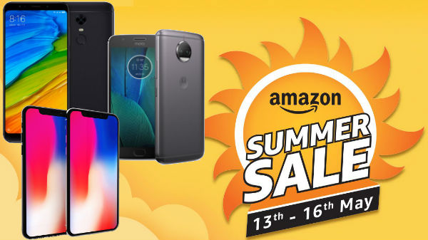 Amazon summer sale offers: Upto 35% off on smartphones