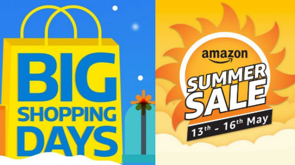 Flipkart Big shopping Day and Amazon sale on Budget smartphones