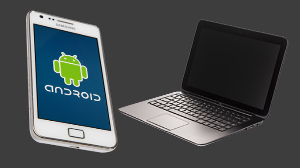 How to share data wirelessly between your Android phone and PC