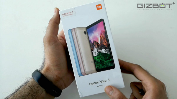 Xiaomi Redmi Note 5 and the Redmi Note 5 Pro Now available for Rs 999