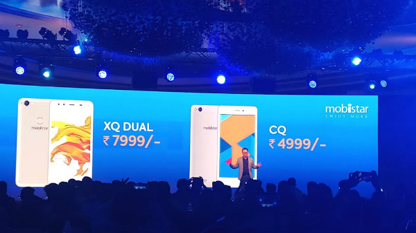 Mobiistar CQ and XQ Dual launched for Rs. 4,999 and Rs. 7,999
