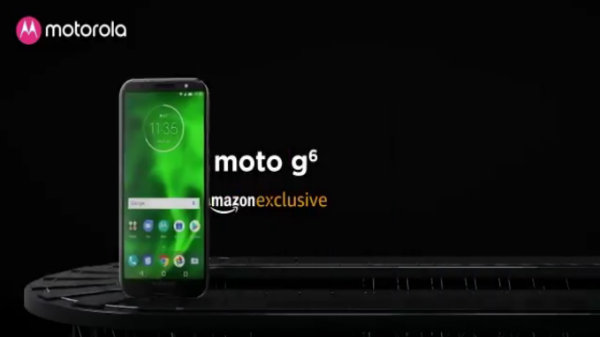 Moto G6 will be an Amazon exclusive smartphone