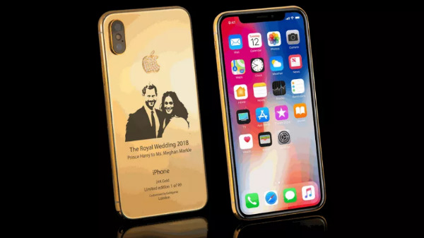 This iPhone X is the costliest tribute to the Royal-wedding