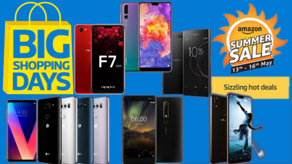 Flipkart and Amazon's last day offers on smartphones with best camera
