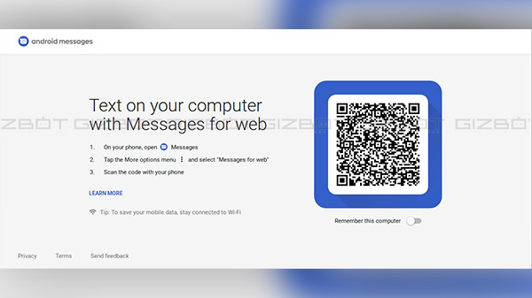 Android Messages for web is now available: How to use it?