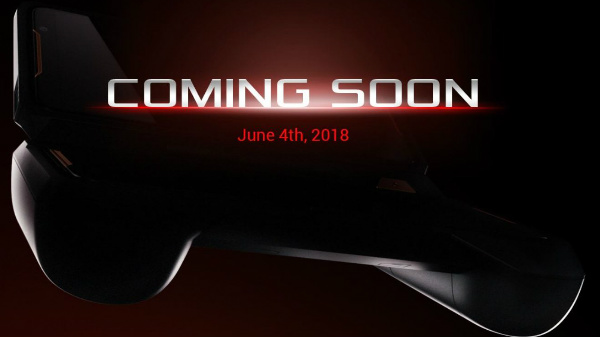 ASUS ROG gaming smartphone with controller teased