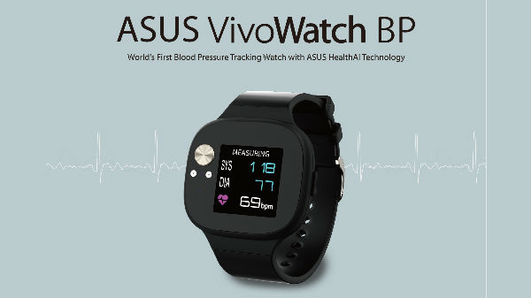 Asus launches the VivoWatch BP with ECG and PPG sensors