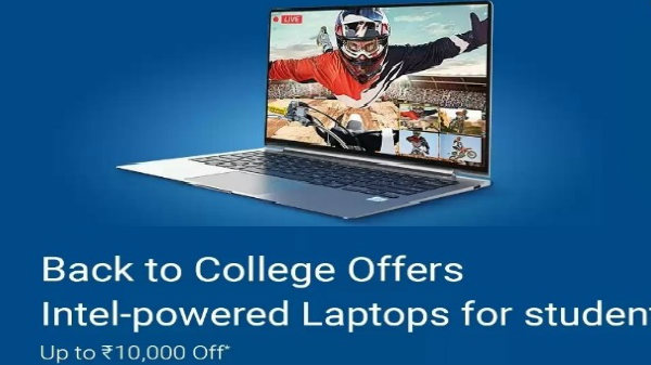 Best student laptops available at up to Rs. 10000 discount on Flipkart