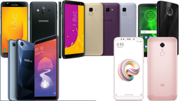Budget Smartphones to buy in India in June 2018