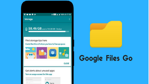 Google File Go app update brings faster transfer speeds and more