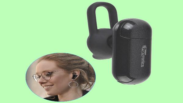 Portronics launches Harmonics Capsule Bluetooth headphones