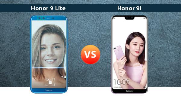 Honor 9i Vs Honor 9 Lite: Notch Vs No Notch