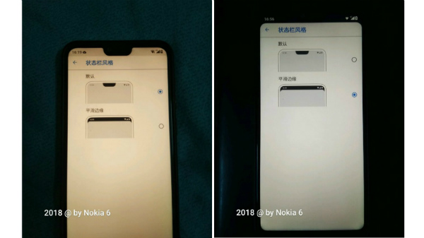 How to hide notch on the Nokia X6?