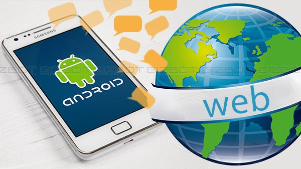 How to send text messages with Android Messages for web